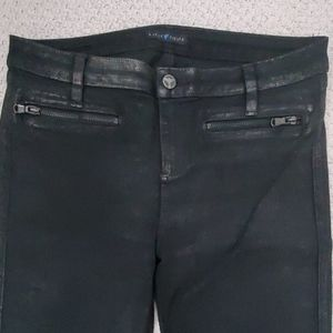 Guess Tiesto Collection Coated Skinny Pants 28